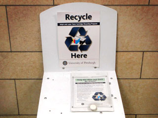 Image of toner recycling container